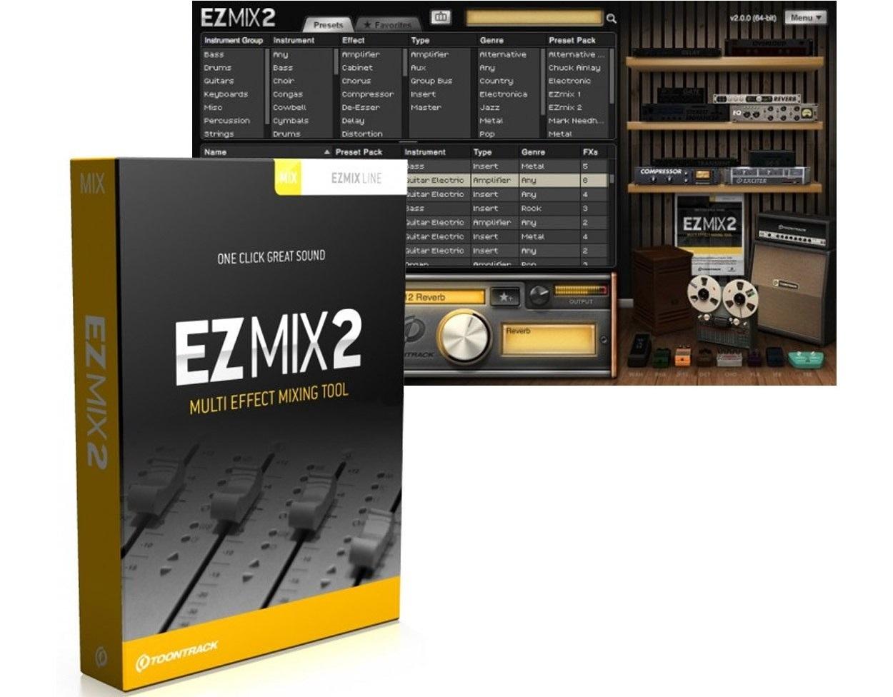 Toontrack EZmix Crack