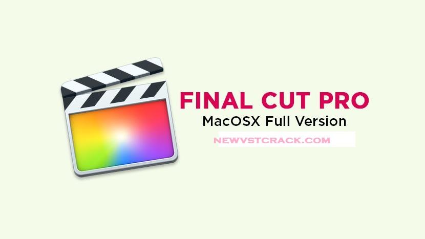 Final Cut Pro X Mac Crack