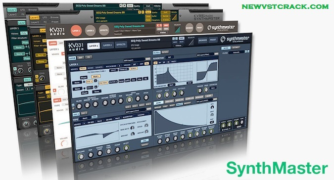 KV331 SynthMaster VST Crack