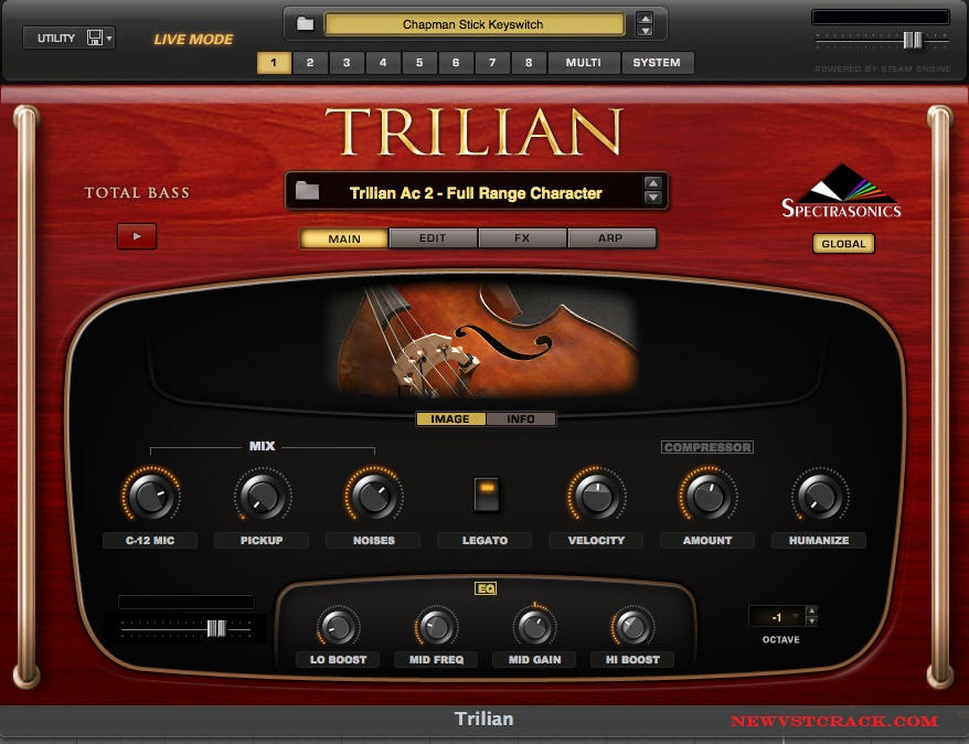 Spectrasonics Trilian Vst Crack [Mac]